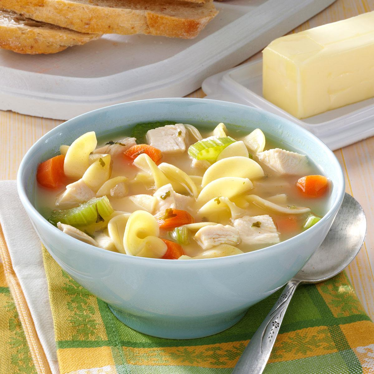 30-Minute Chicken Noodle Soup Recipe