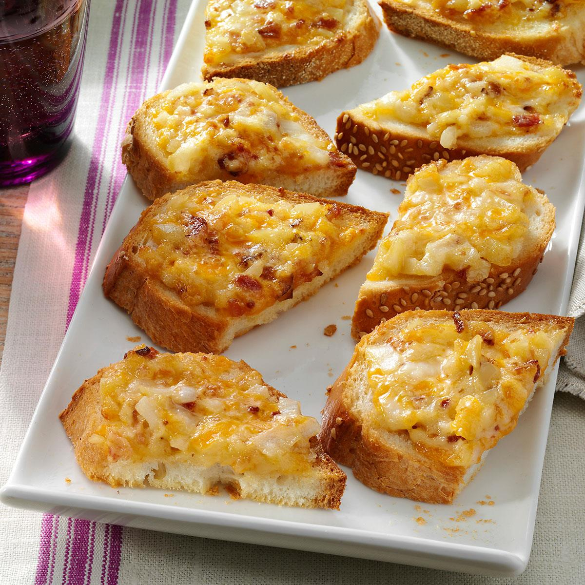 Almond cheddar appetizers recipe taste of home forumfinder Images