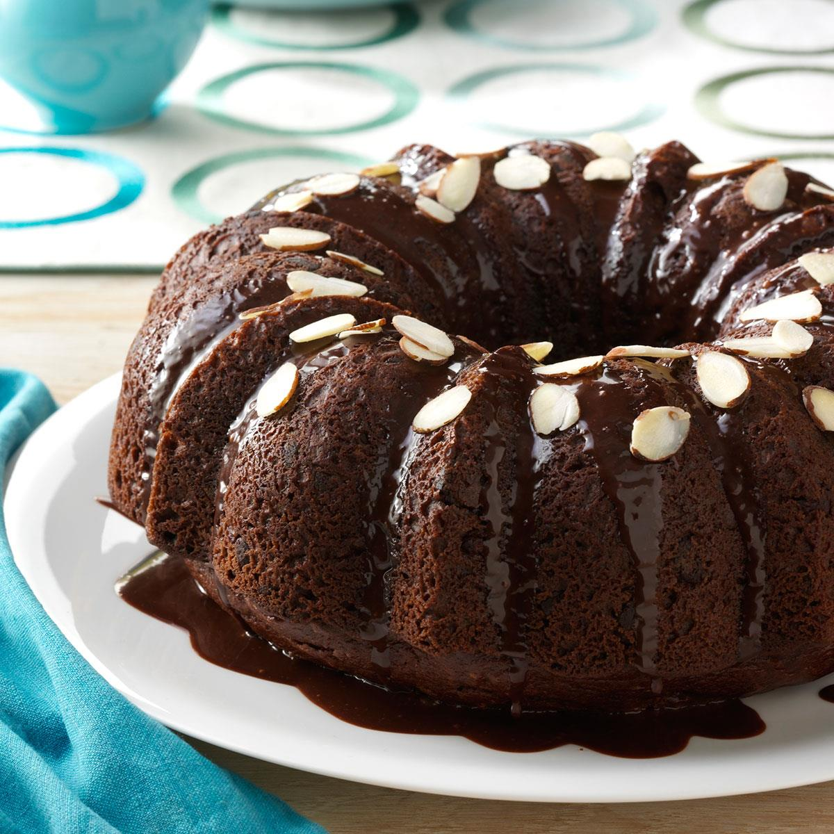 Almond Chocolate Cake Recipe Taste Of Home