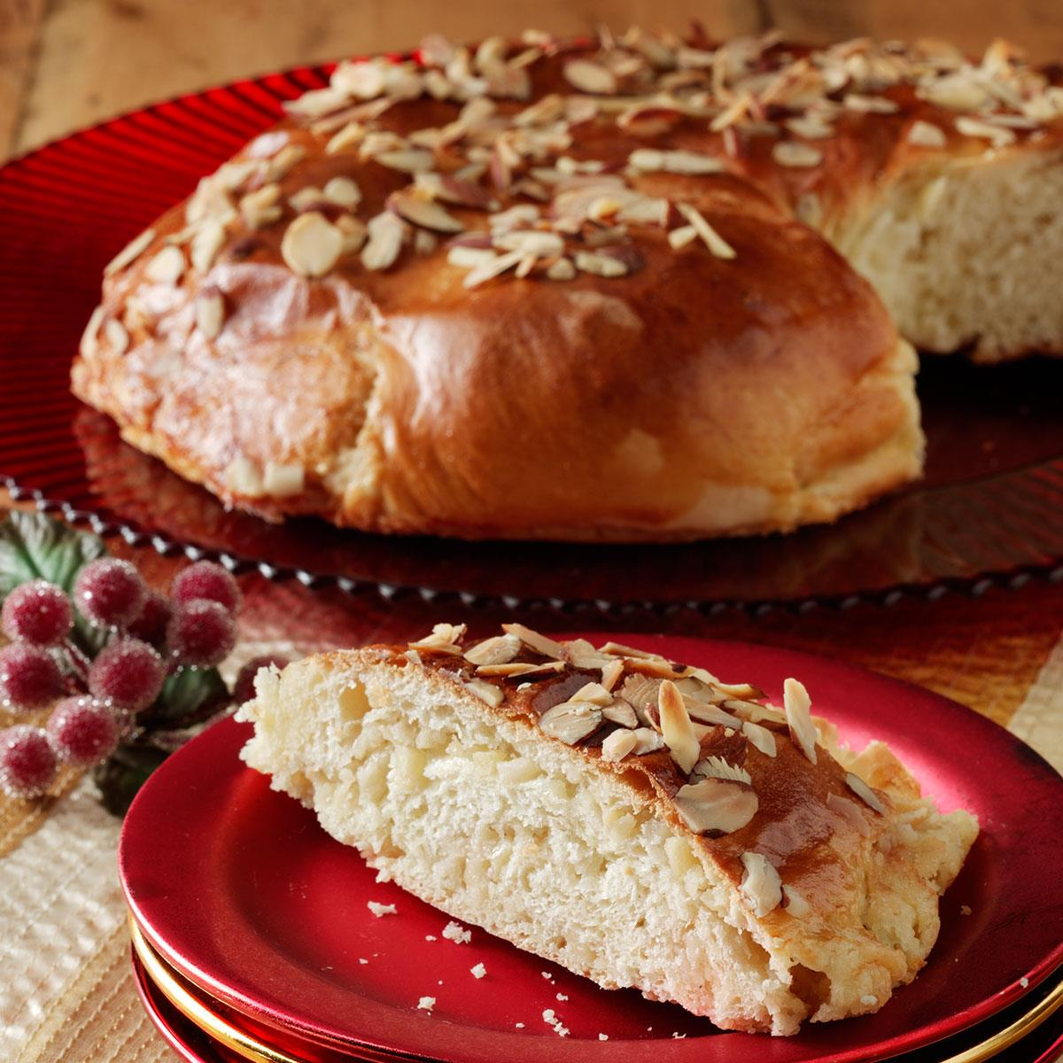 Almond Danish Coffee Cakes Recipe Taste Of Home