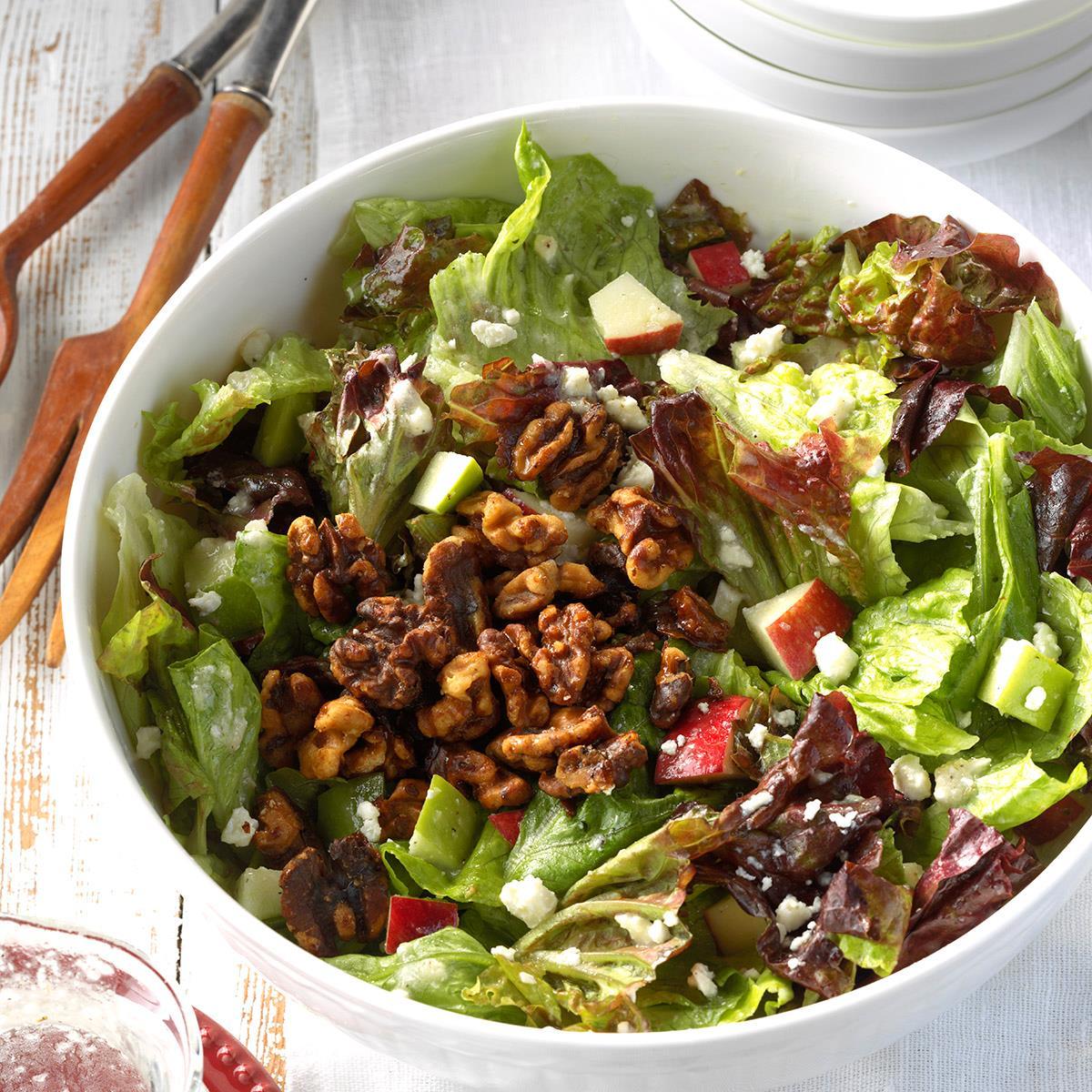 Apple Feta Tossed Salad Recipe Taste Of Home
