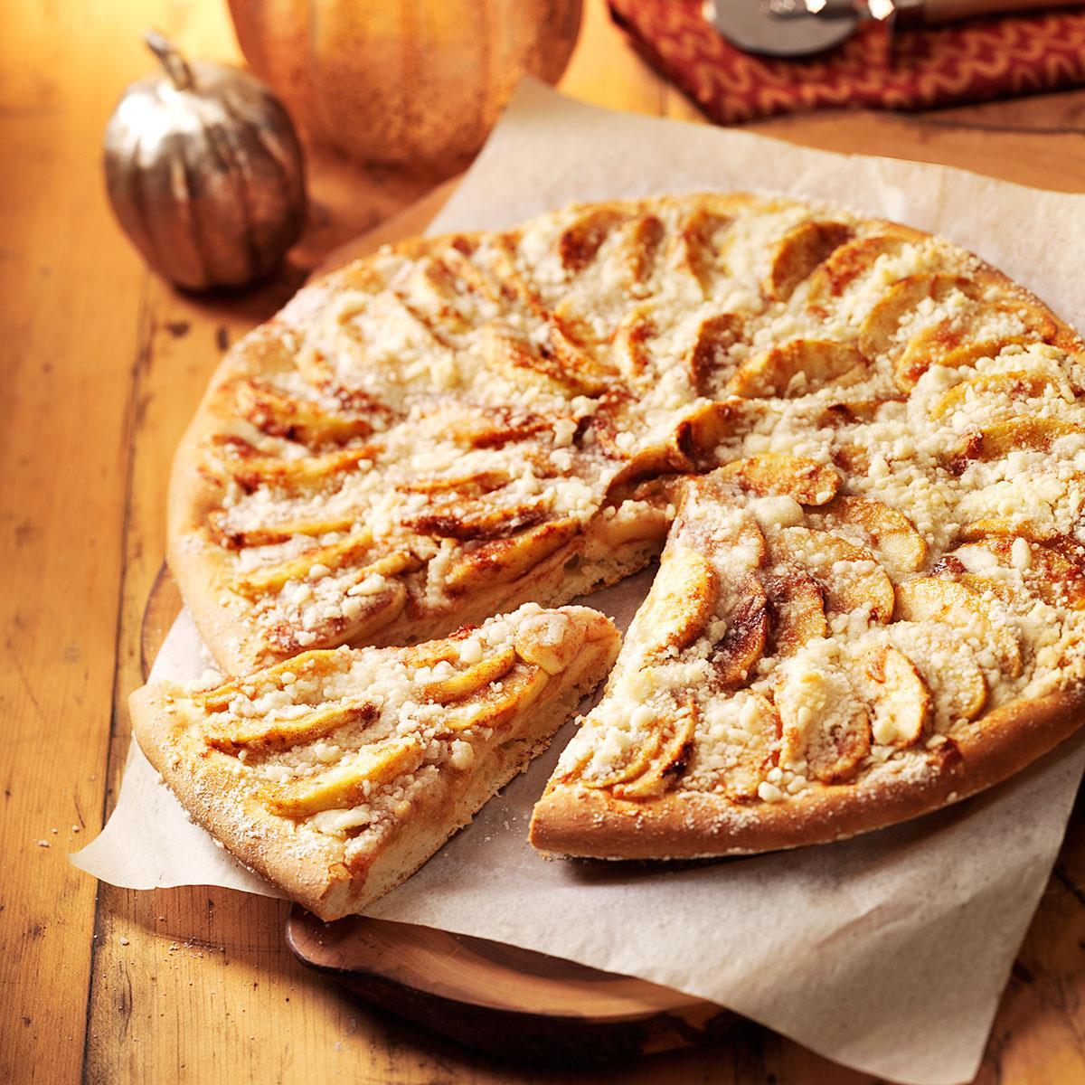 Apple Pizza Recipe Taste Of Home