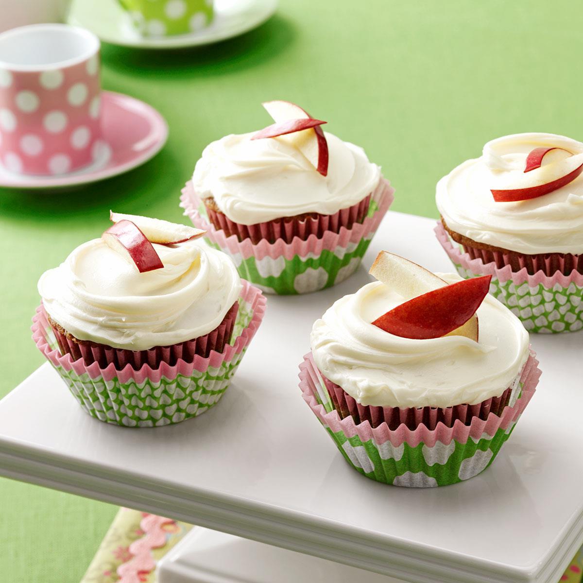 Applesauce Spice Cupcakes Recipe Taste of Home