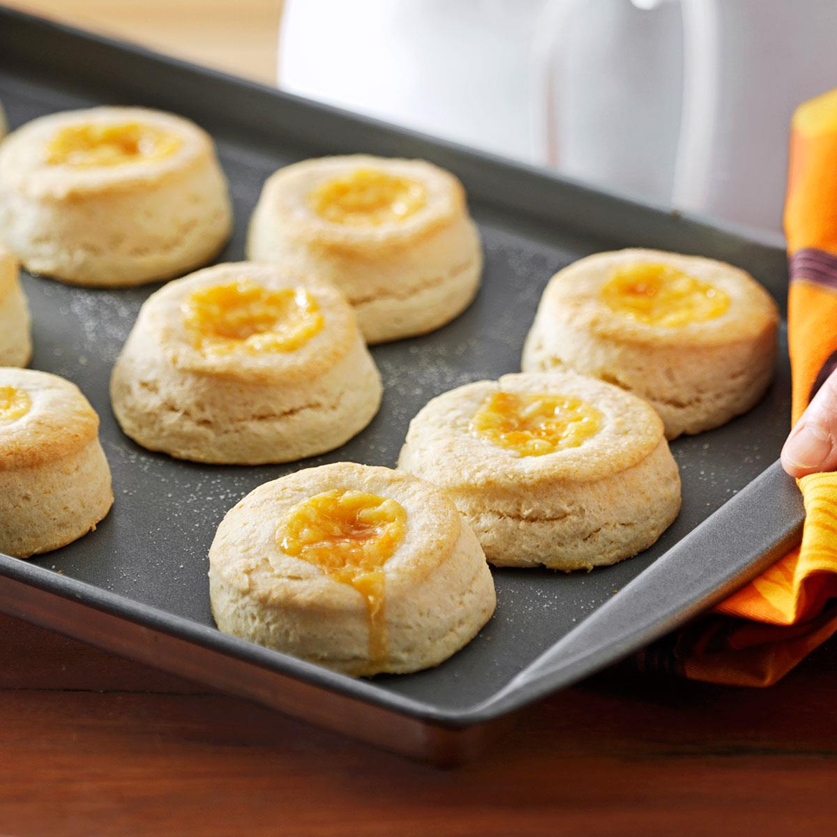 Apricot Cream Biscuits Recipe