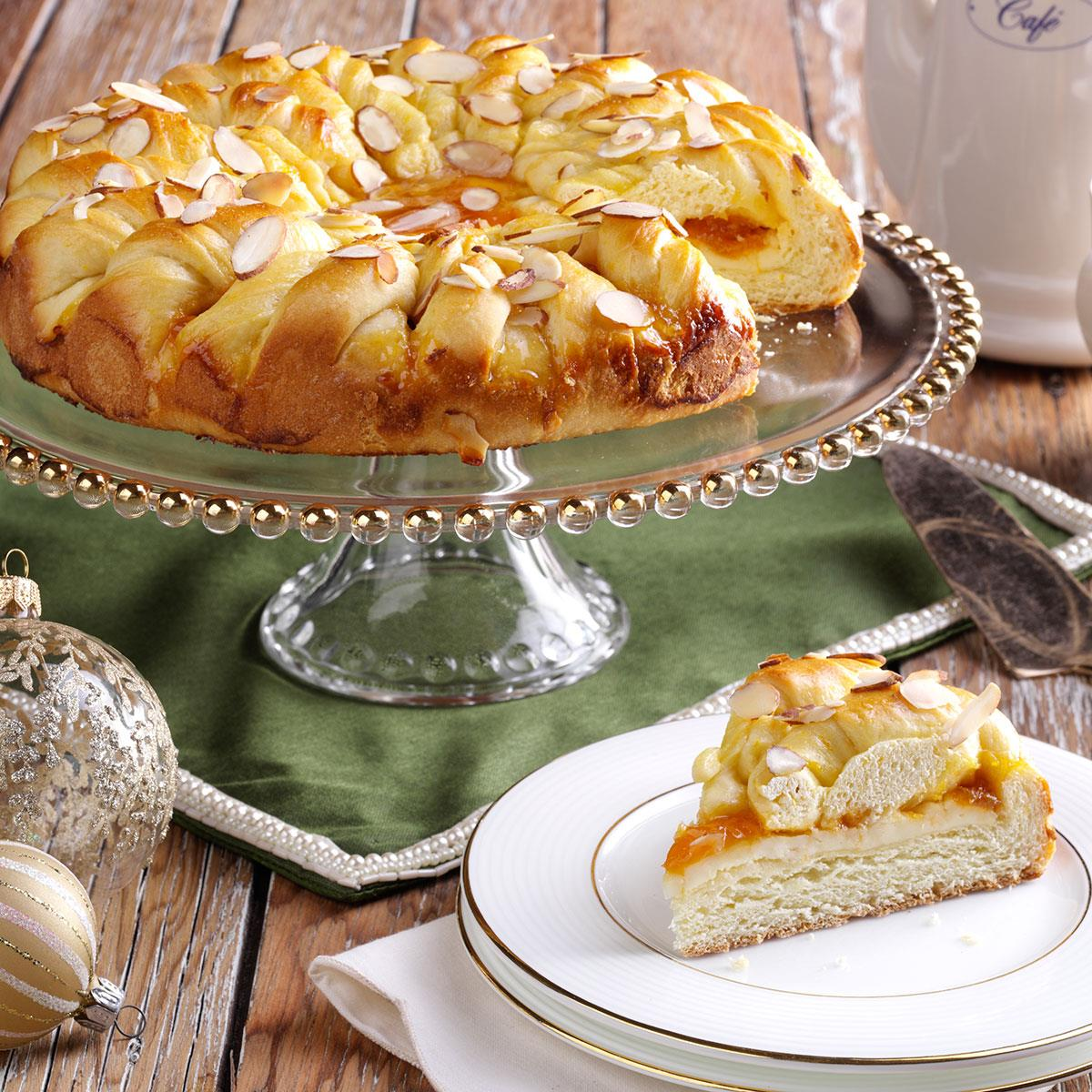 Taste Of Home Almond Apricot Coffee Cake