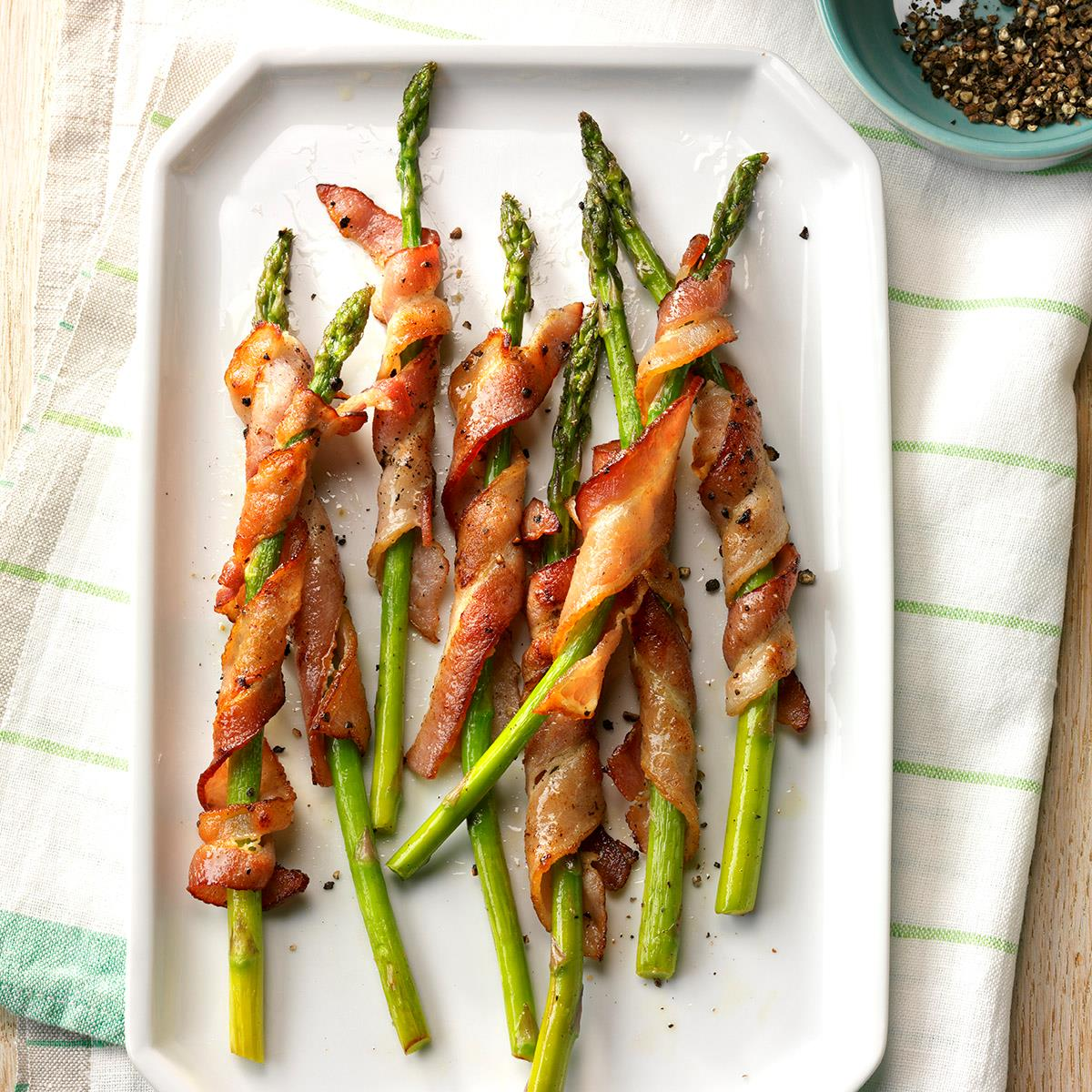 Bacon Wrapped Asparagus Recipe Taste Of Home