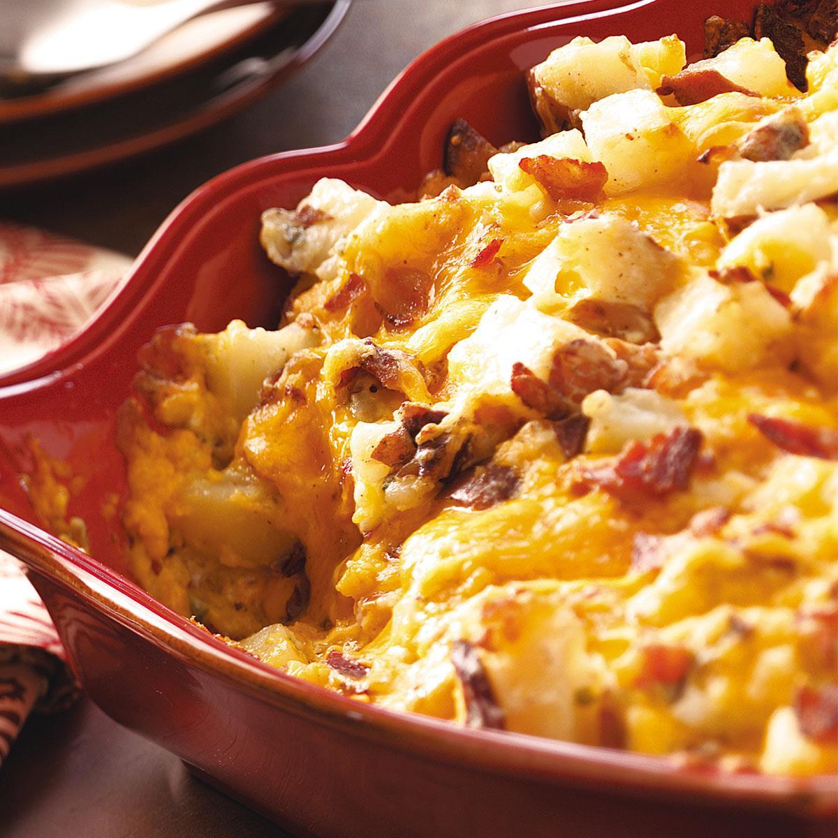 Casseroles Recipes: Baked Potato Casserole Recipe