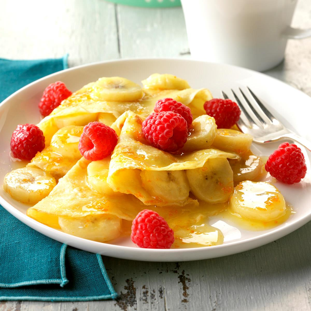 Banana Crepes Recipe Taste Of Home