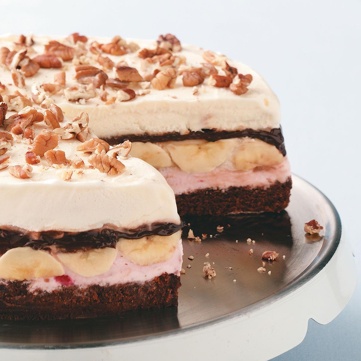 Banana Split Icebox Cake Taste Of Home