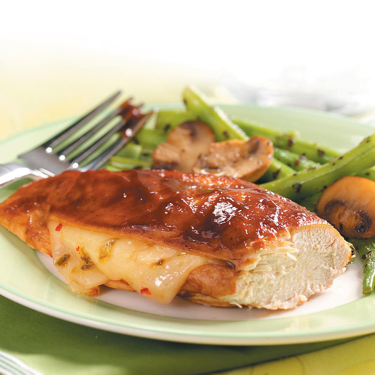 Barbecue Jack Chicken Recipe Taste Of Home