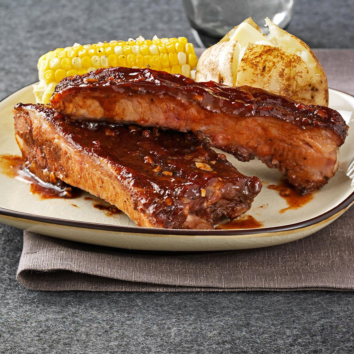 Big Daddy S Bbq Ribs Recipe Taste Of Home