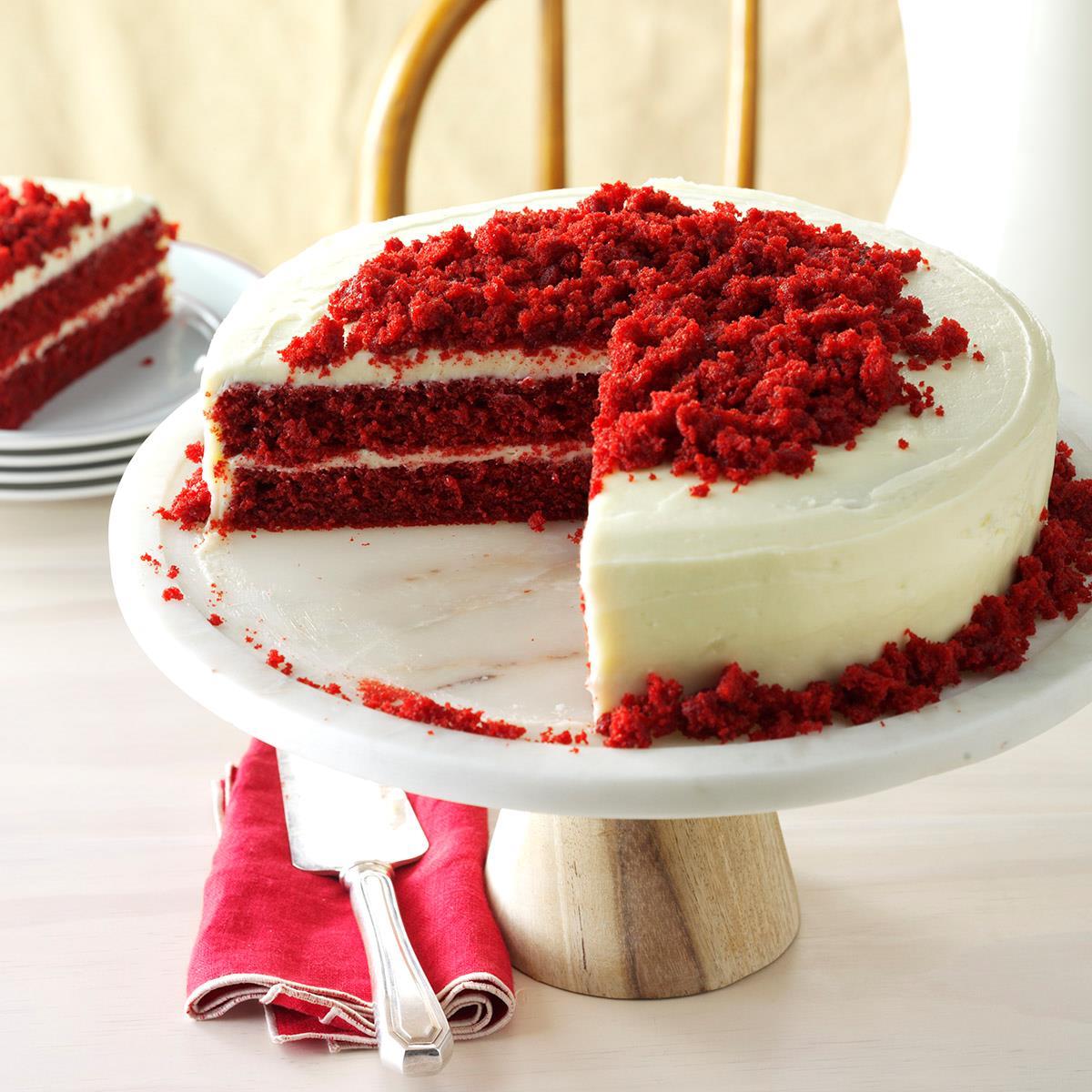 Easy Red Velvet Cake Box Recipe