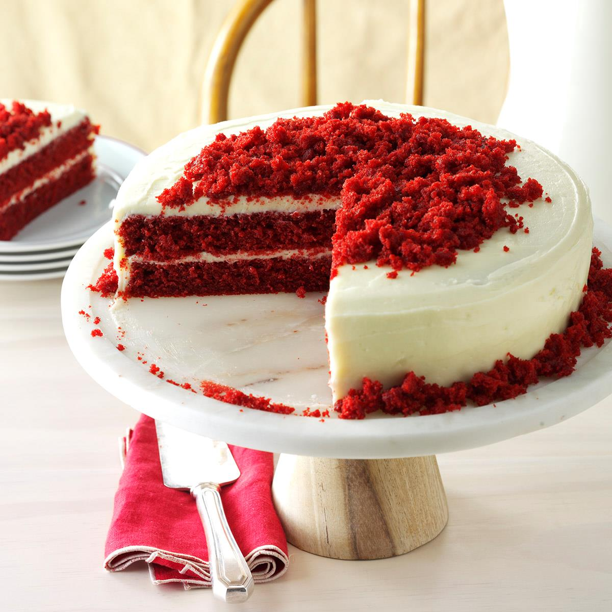 Red Velvet Cheesecake Cake Scratch