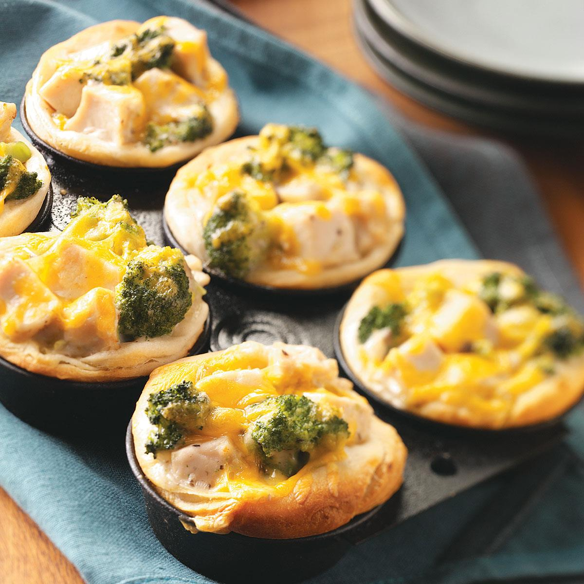 Broccoli chicken cups recipe taste of home forumfinder Image collections