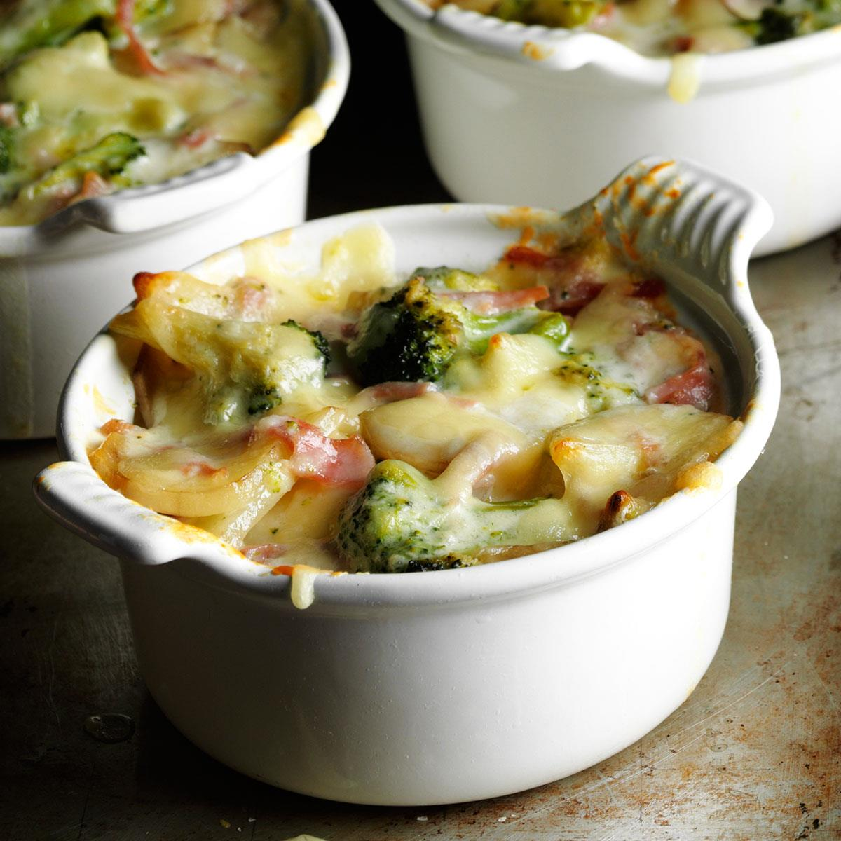 Broccoli Scalloped Potatoes Recipe