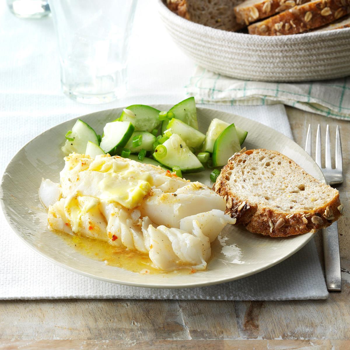 Broiled Cod Recipe Taste Of Home