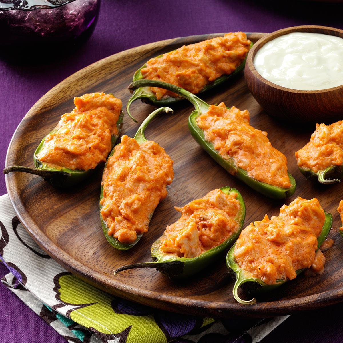 Pepper Poppers Recipe: Buffalo Wing Poppers Recipe
