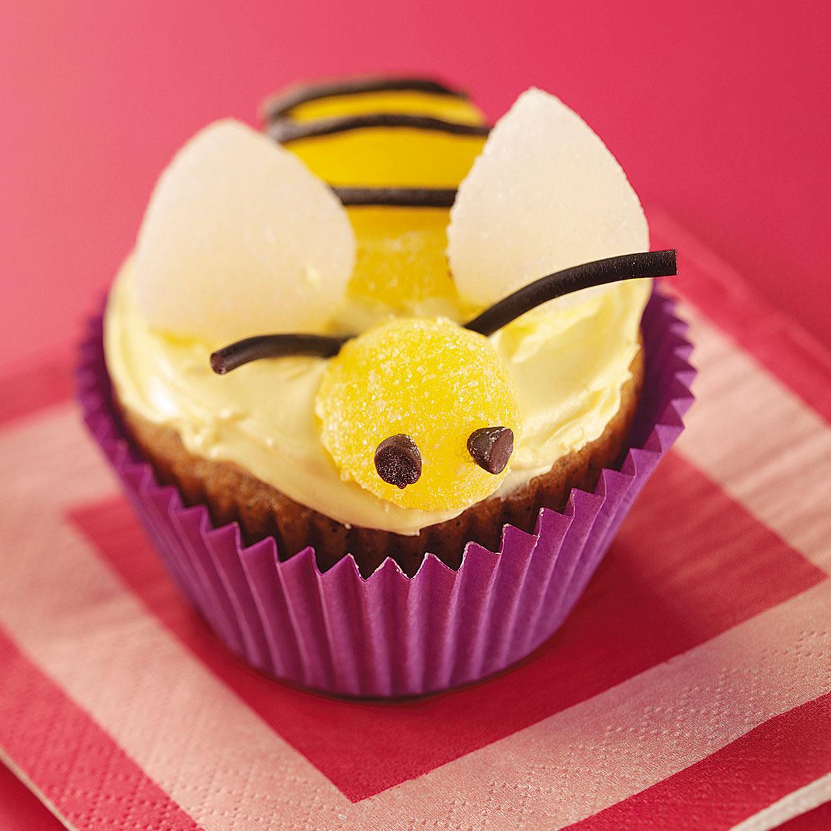 Bumblebee Banana Cupcakes Recipe Taste of Home
