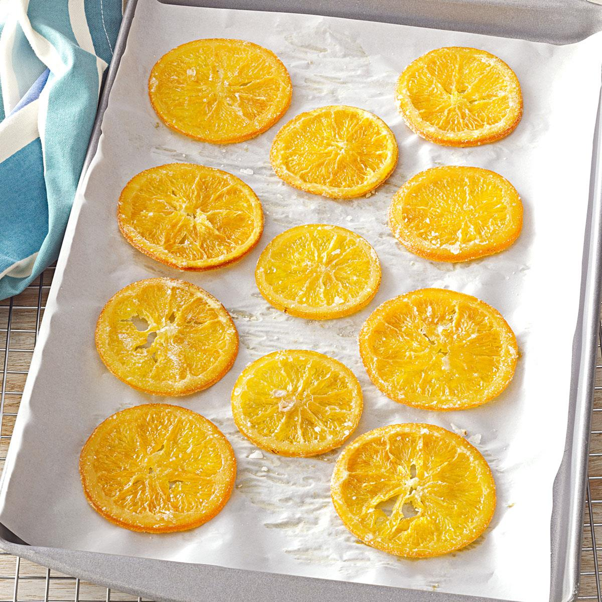 Candied Citrus Recipe Taste Of Home