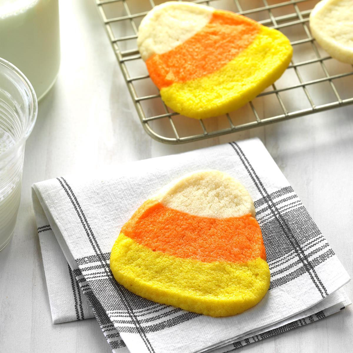 Candy Corn Cookies Recipe | Taste of Home