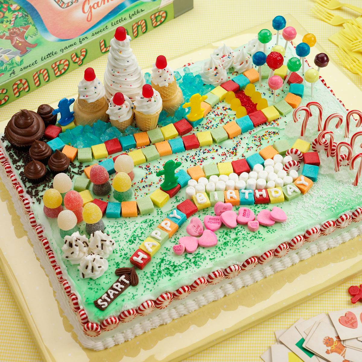 Wall Colour Inspiration: Candy Land Cake Recipe