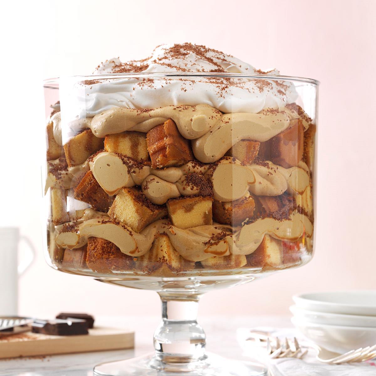 Brownie Mocha Trifle Recipe: Cappuccino Mousse Trifle Recipe