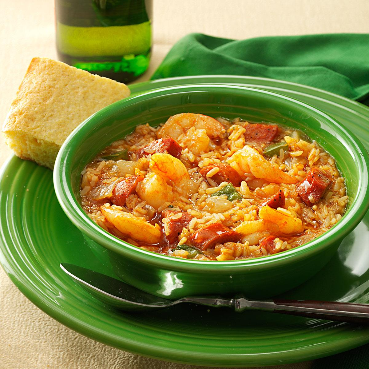 Captain russells jambalaya recipe taste of home forumfinder Image collections