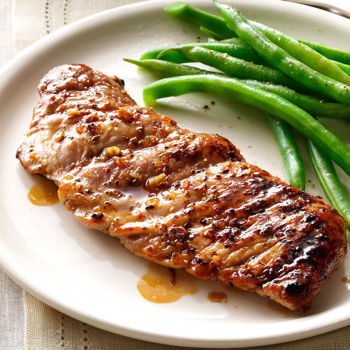 pork tenderloin recipe caramelized recipes taste grilled minutes ready