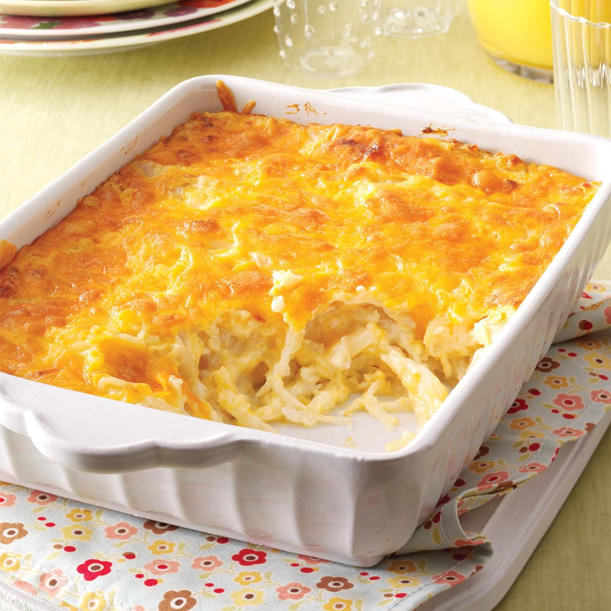 Cheesy Hash Brown Bake Recipe