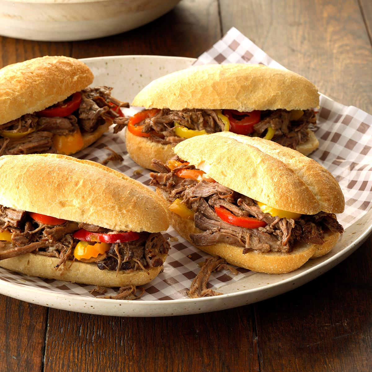 Chicago-Style Beef Rolls Recipe