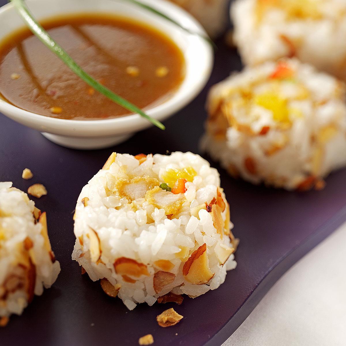 Chicken Tempura Rolls Recipe Taste Of Home