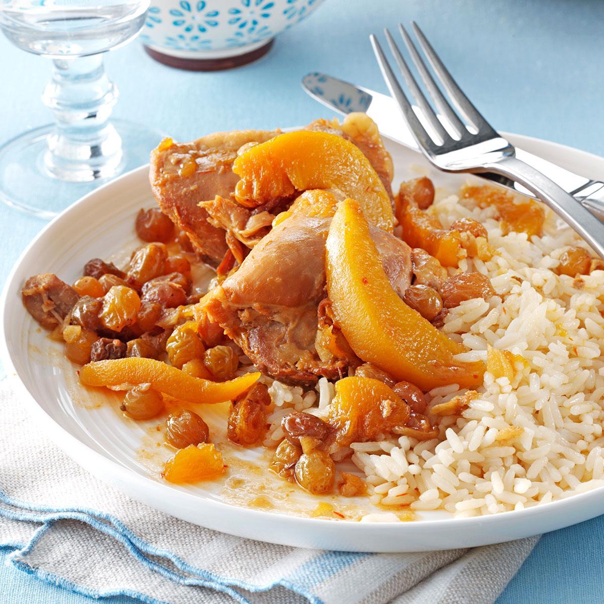recipe: easy peach chicken recipe [6]