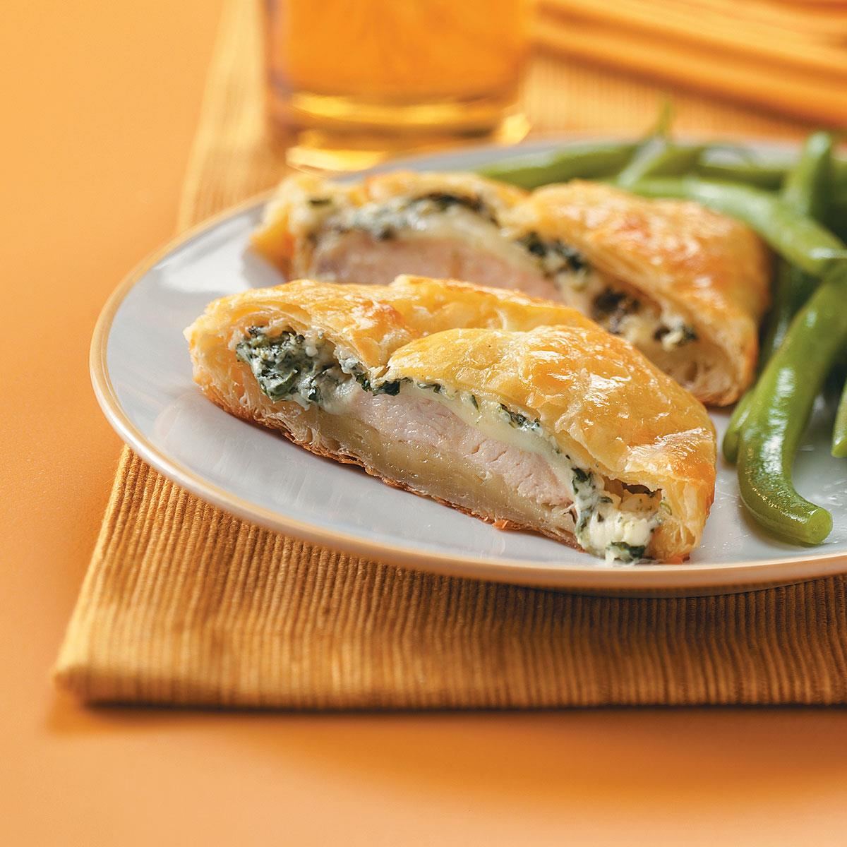 Chicken in Puff Pastry Recipe Taste of Home