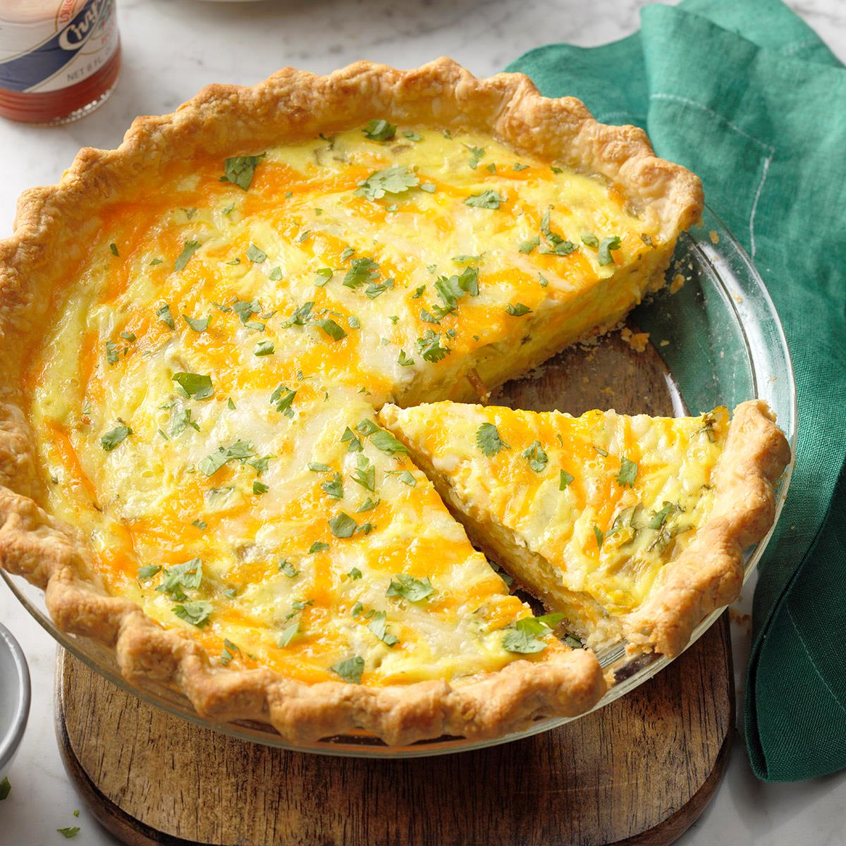 Chiles Relleno Quiche Recipe Taste Of Home