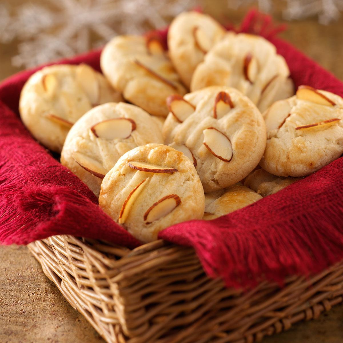 Chinese Almond Cookies Recipe Taste Of Home