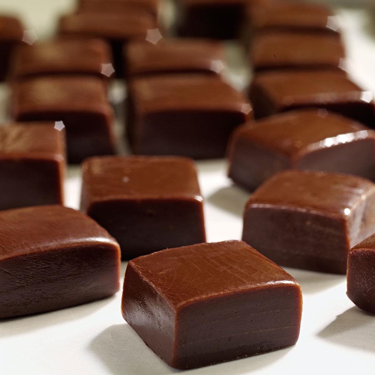 Chocolate Caramels Recipe | Taste of Home