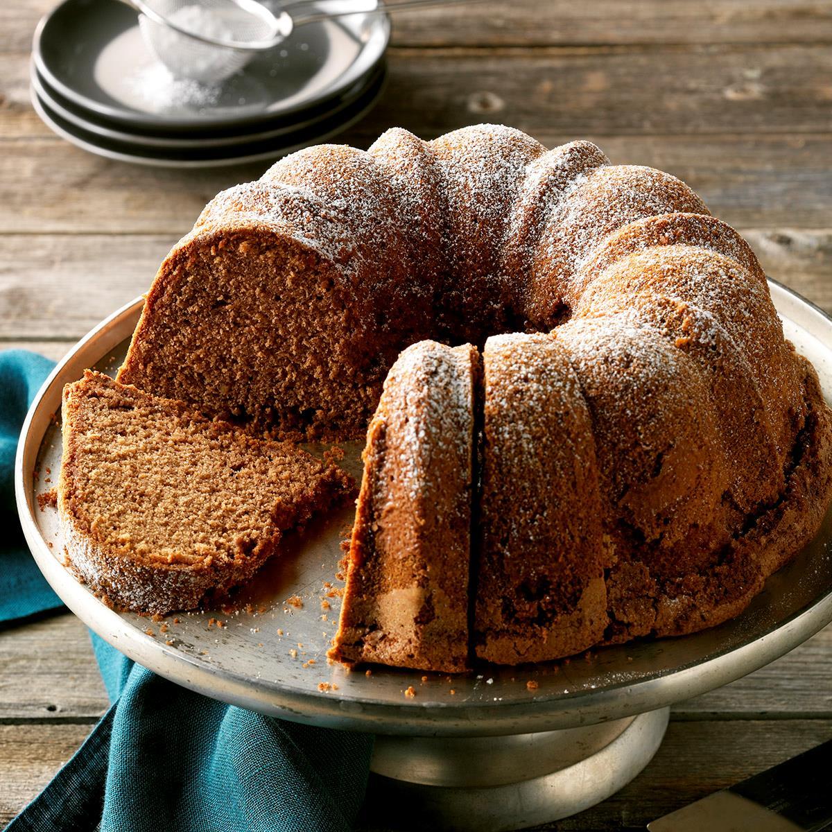 Chocolate Pound Cake Recipe Taste Of Home