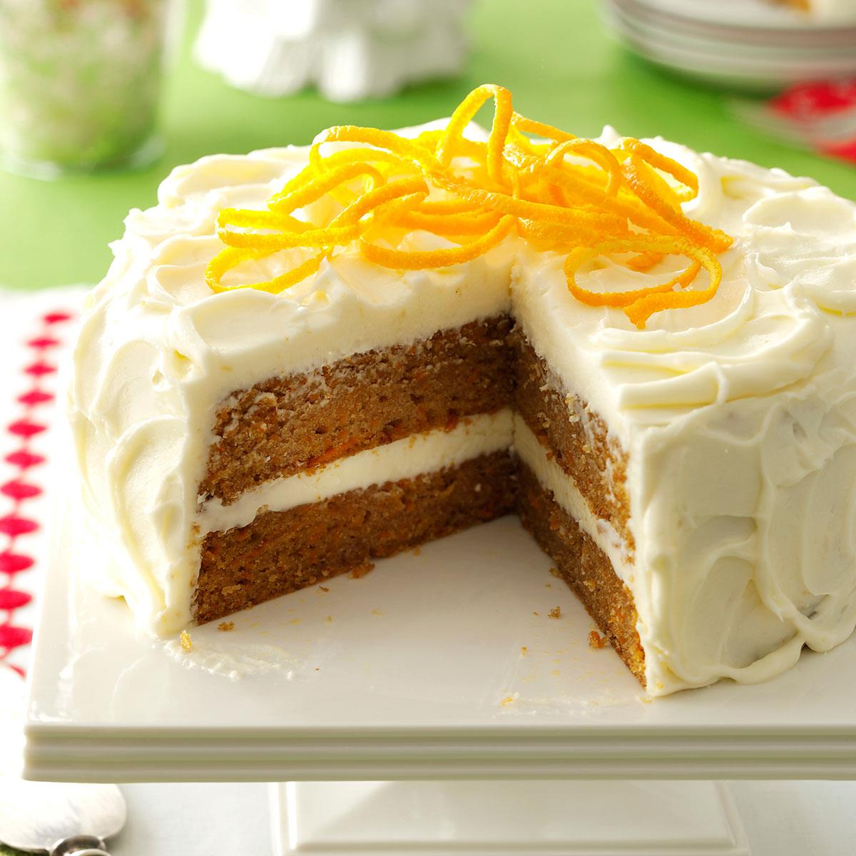 sweet potato cake citrus kissed sweet potato cake recipe taste of home 7865