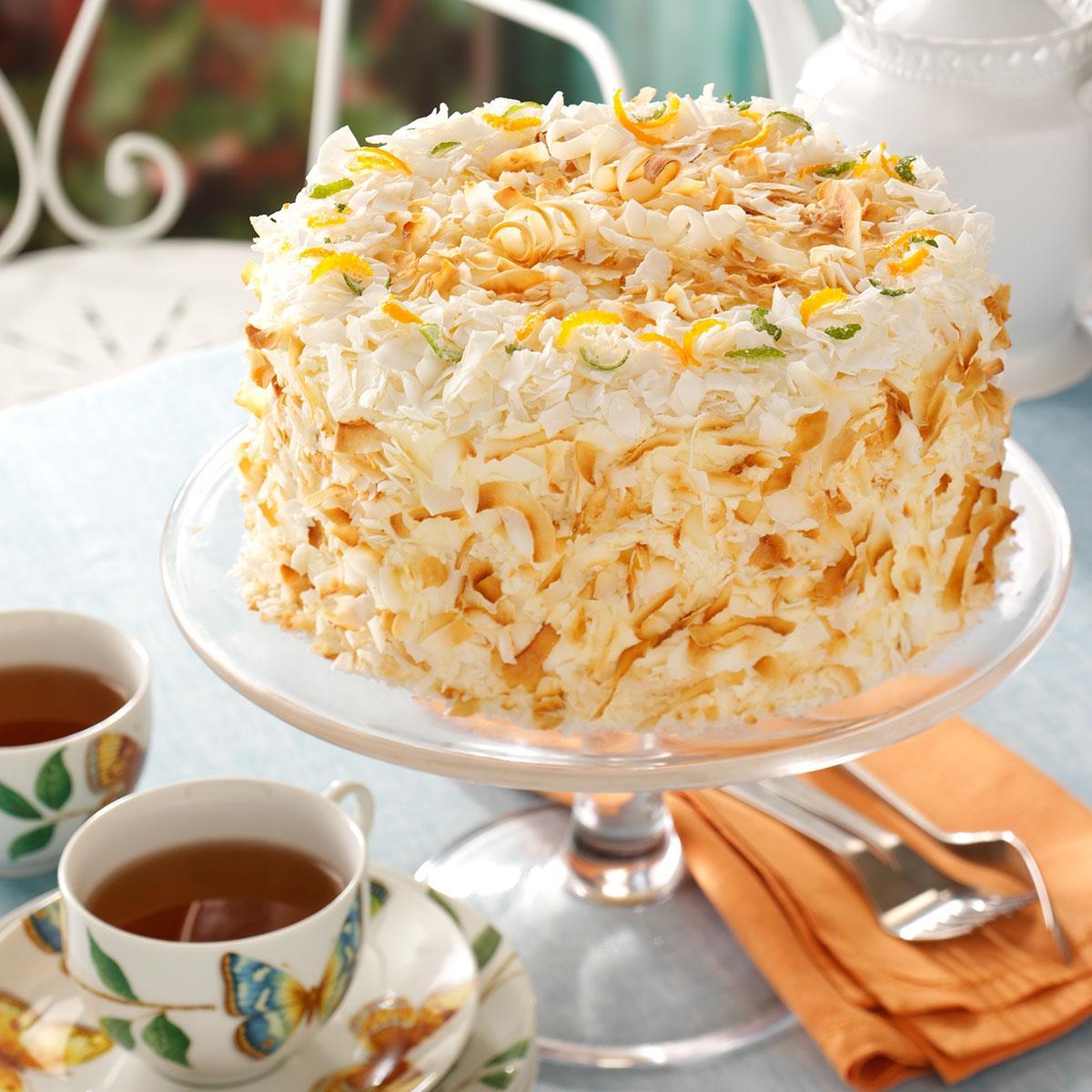 Orange Pineapple Chiffon Cake Recipe