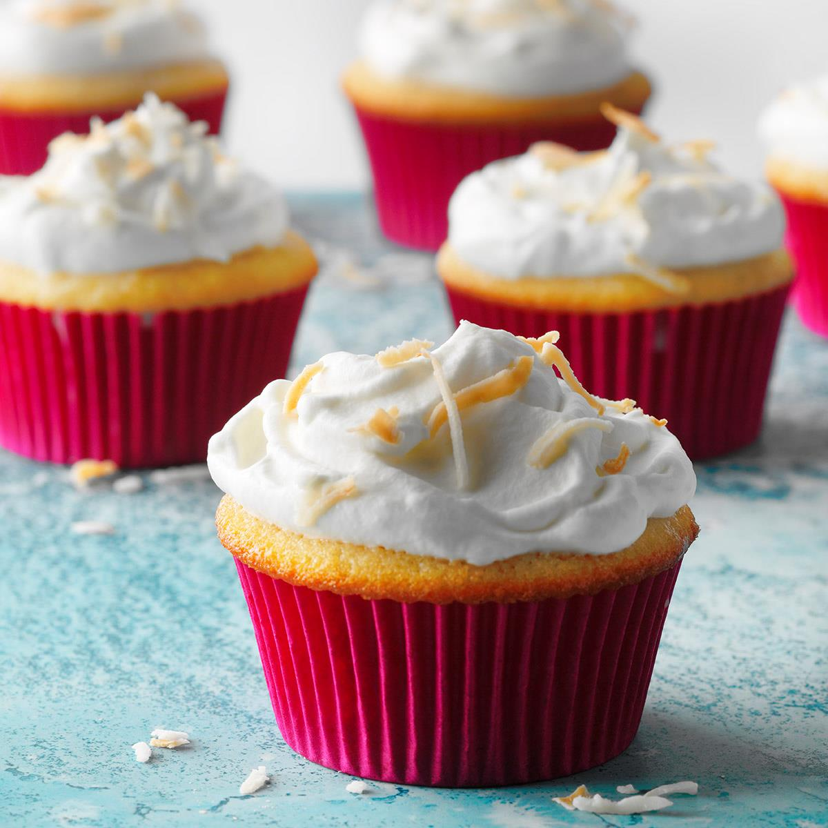 Coconut Tres Leches Cupcakes Recipe Taste Of Home