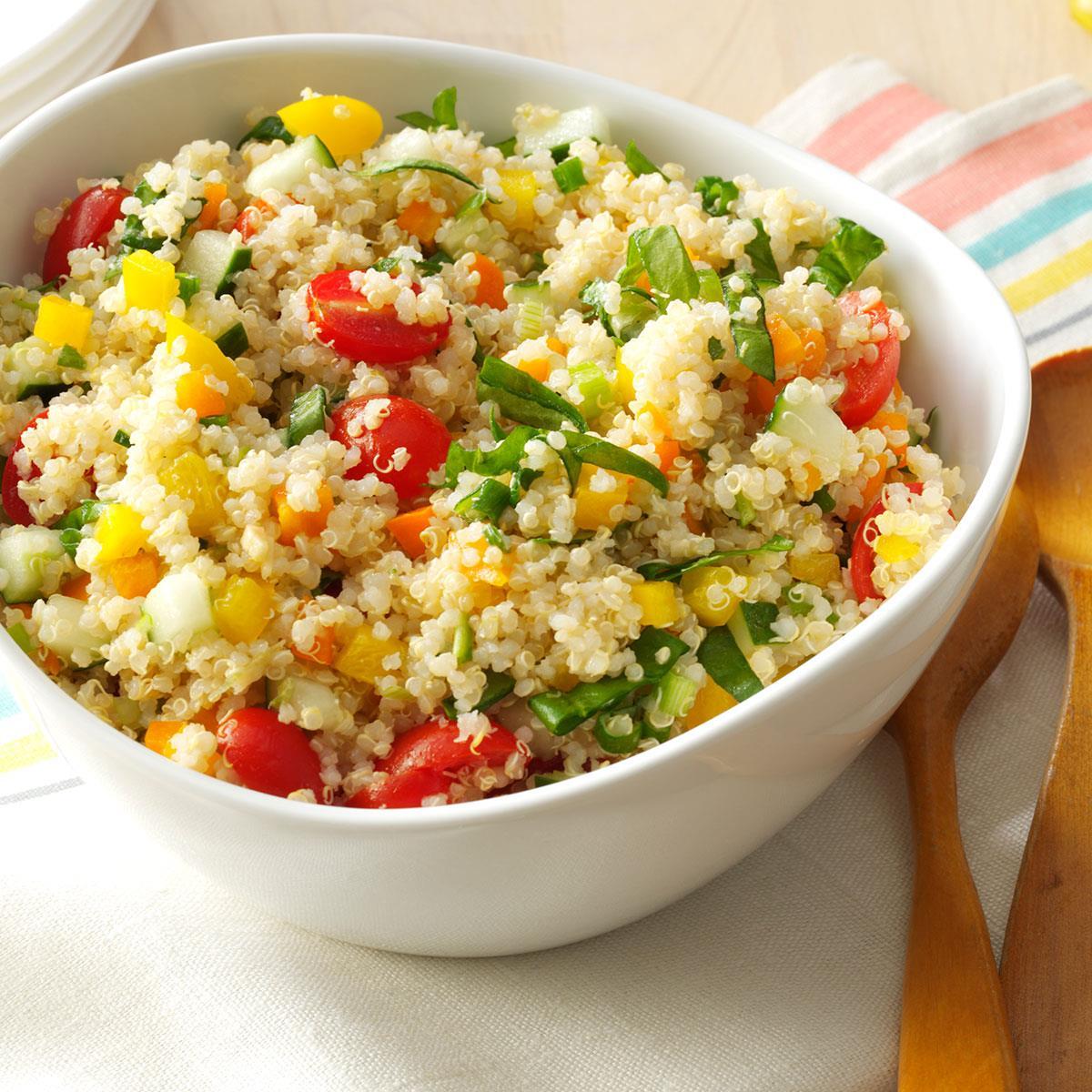 Colorful Quinoa Salad Recipe