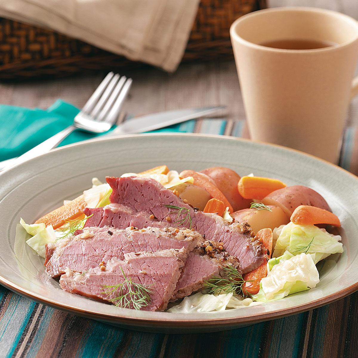 Corned beef dinner recipe taste of home forumfinder Image collections