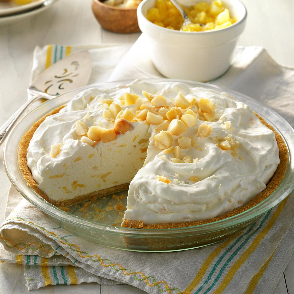 Creamy Pineapple Pie Recipe Taste Of Home