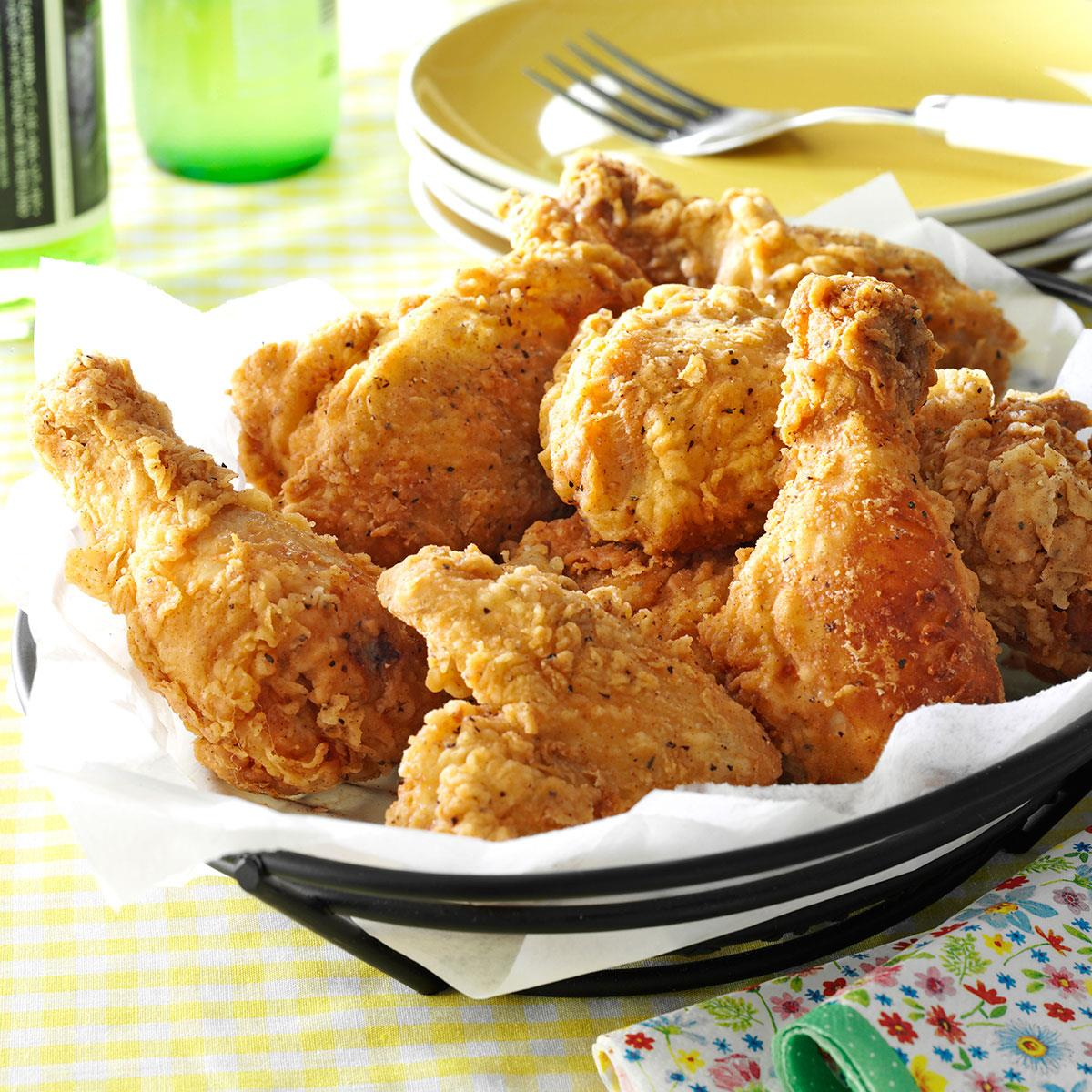 Crispy Fried Chicken Recipe Taste Of Home