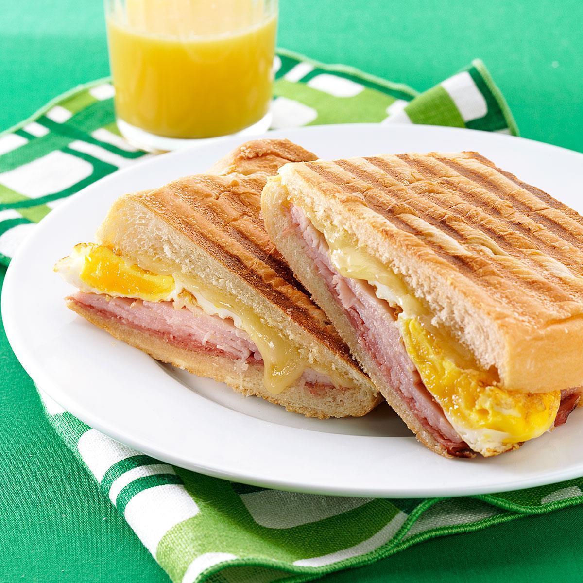 Cuban Breakfast Sandwiches Recipe Taste Of Home