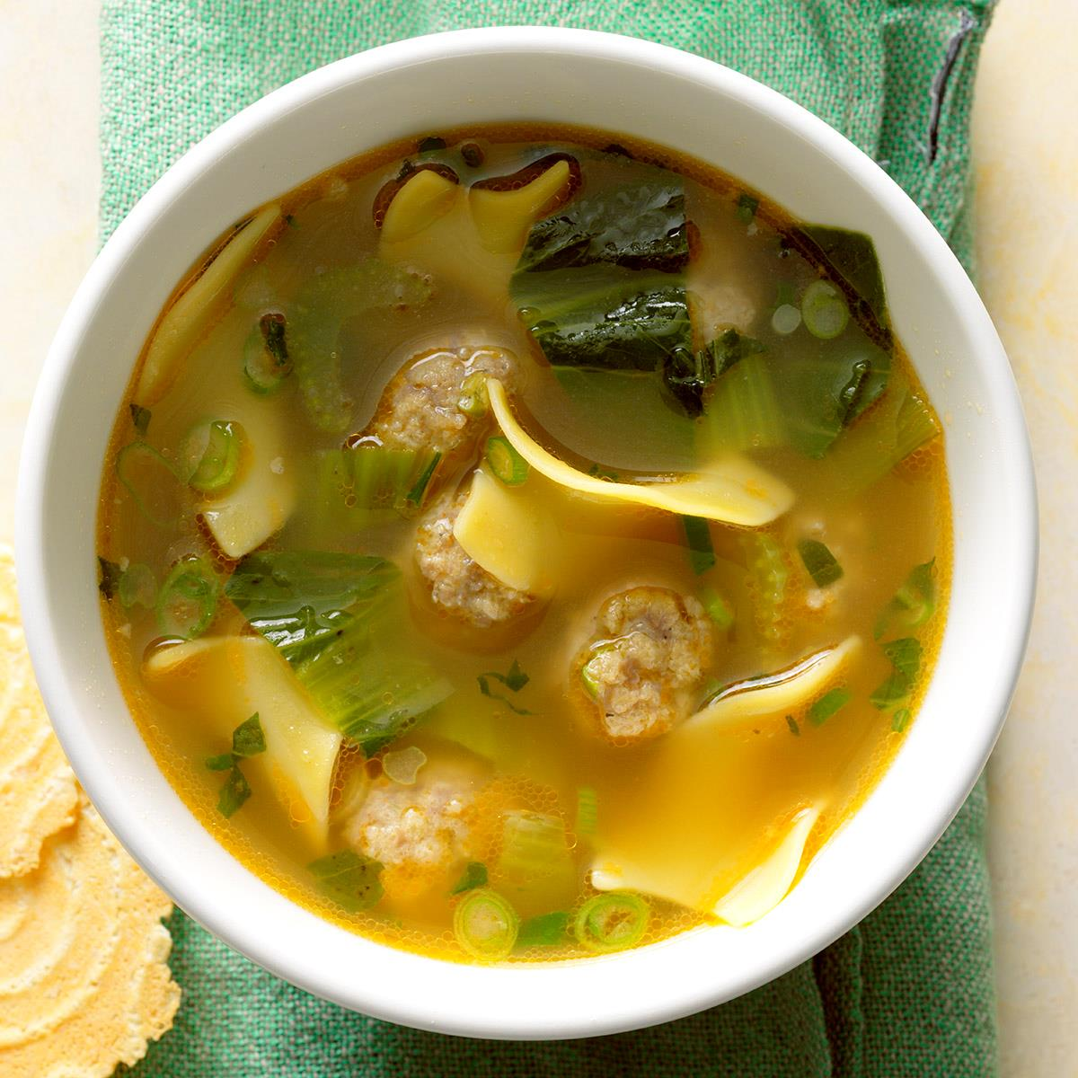 Deconstructed Wonton Soup Recipe Taste Of Home