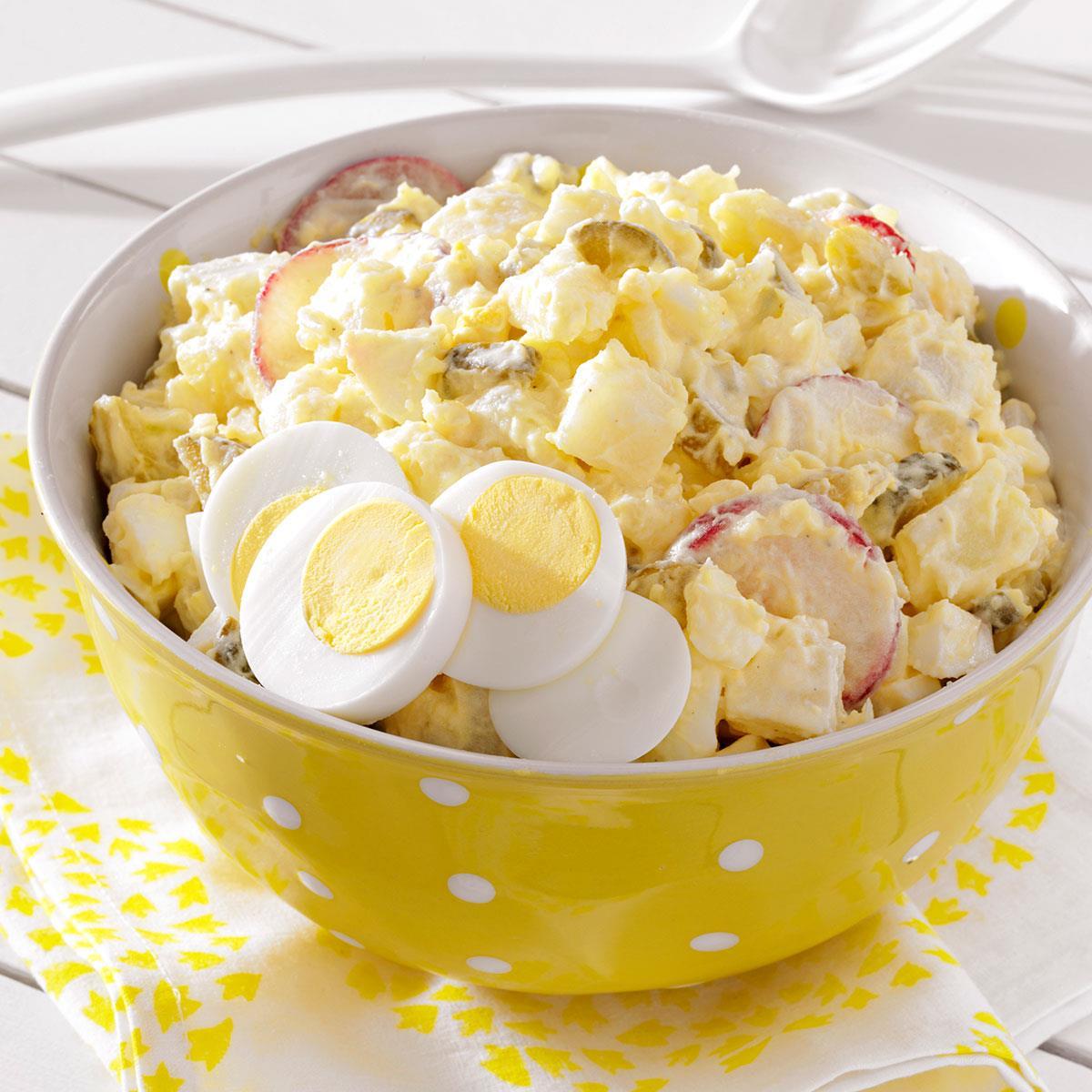 Comfort Food Wedding Menu: Deli-Style Potato Salad Recipe