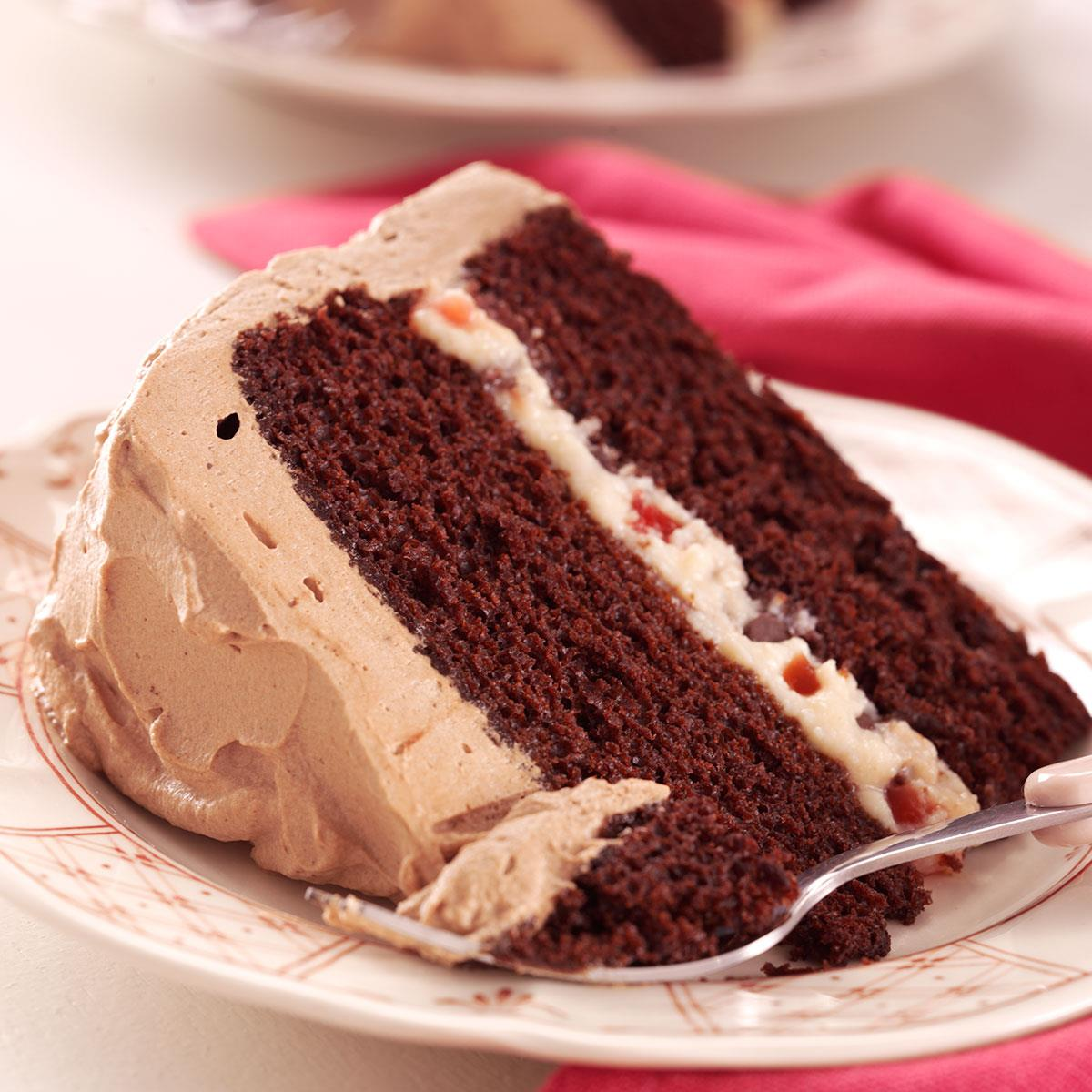 Delightful devils food cake recipe taste of home forumfinder Choice Image