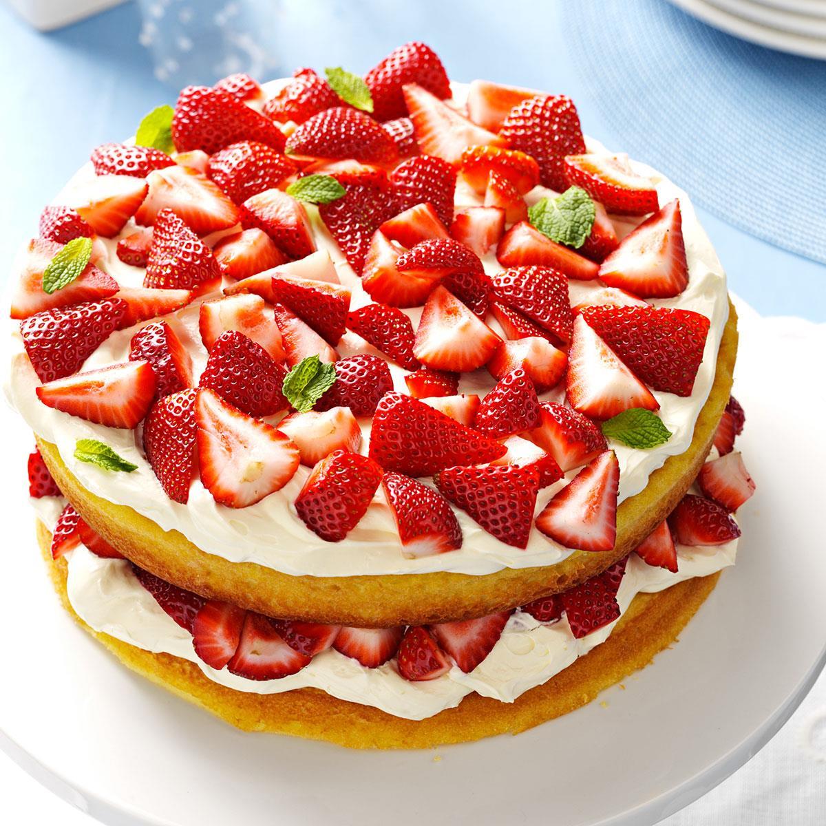 Deluxe Strawberry Shortcake Recipe Taste Of Home