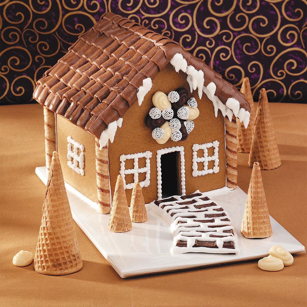 Mini Gingerbread House Recipe